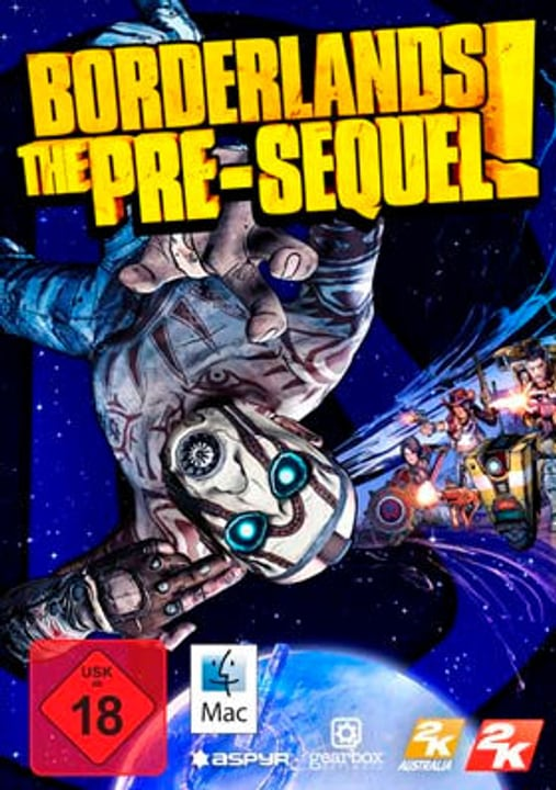PC/Mac - Borderlands The Pre-sequel Download (ESD) 785300133567 N. figura 1