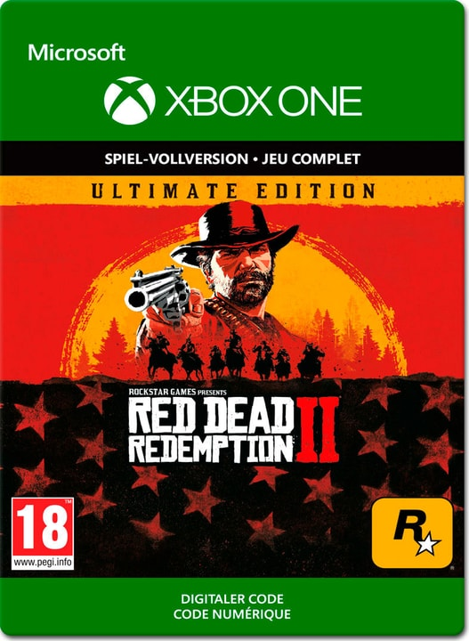 Xbox One - Red Dead Redemption 2 - Ultimate Edition Download (ESD) 785300141697 N. figura 1