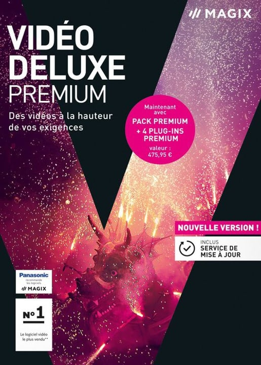 PC - Video deluxe 2018 Premium (F) Magix 785300129427 Photo no. 1