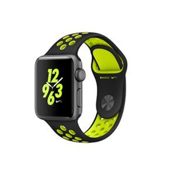 Watch Series 2 Nike+ 42mm Black/Volt Apple 798178500000 Bild Nr. 1