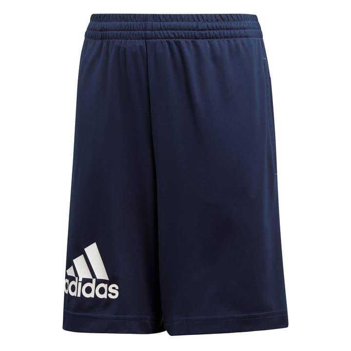 Gear Up Knit Short Short pour garçon Adidas 464566012843 Couleur bleu marine Taille 128 Photo no. 1