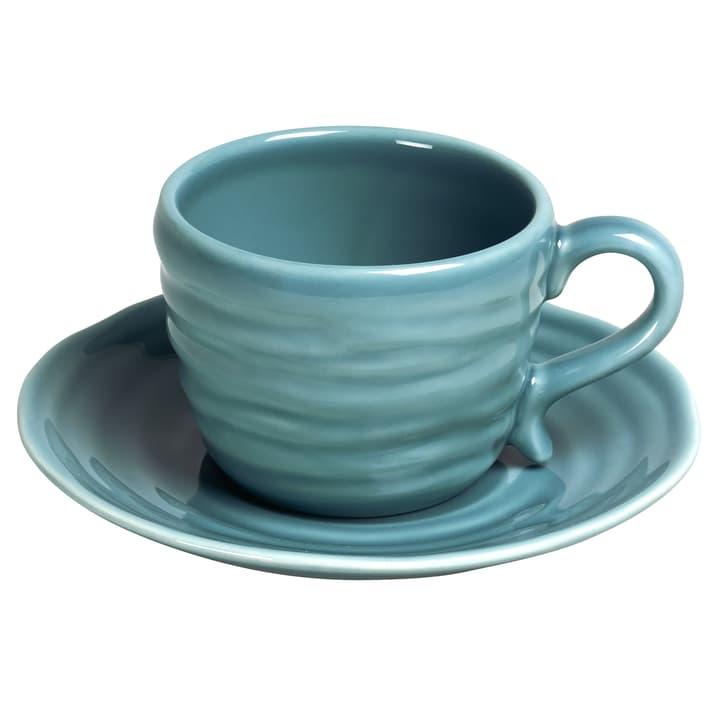 CRAFT Kaffeetasse inkl. Untertasse 440258500000 Farbe Blau Grösse H: 6.3 cm Bild Nr. 1
