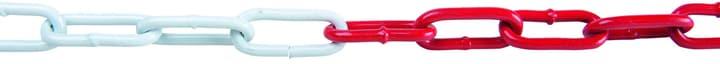 Absperrkette aus Stahl Rot-Weiss Meister 604724700000 Grösse 5 x 31 x 18 mm Bild Nr. 1