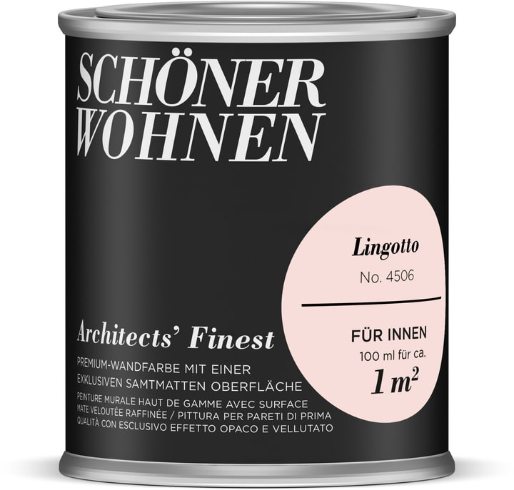 Architects' Finest 100 ml Lingotto Schöner Wohnen 660964700000 Couleur Lingotto Contenu 100.0 ml Photo no. 1