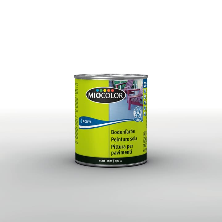 Acryl Pittura per pavimenti Miocolor 660538900000 Contenuto 750.0 ml Colore Grigio Argento N. figura 1