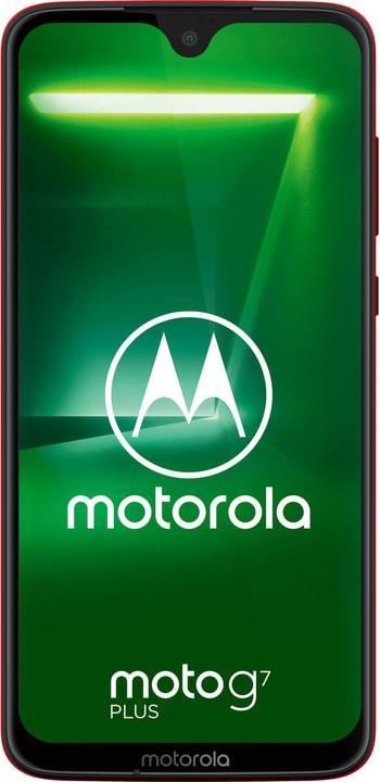 Moto G7 Plus Viva Red Smartphone Motorola 785300147607 Photo no. 1