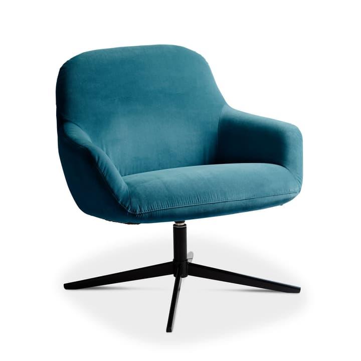 ROSE Sessel 360049949201 Grösse B: 72.0 cm x T: 77.0 cm x H: 78.0 cm Farbe Blau Bild Nr. 1