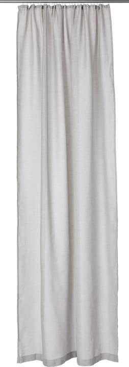 OLIVIA Fertigvorhang Tag 430276421383 Farbe Grau Grösse B: 145.0 cm x H: 260.0 cm Bild Nr. 1