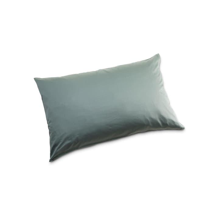 KOS Taie d'oreiller Satin 376018246401 Couleur Vert foncé Dimensions L: 70.0 cm x L: 50.0 cm Photo no. 1