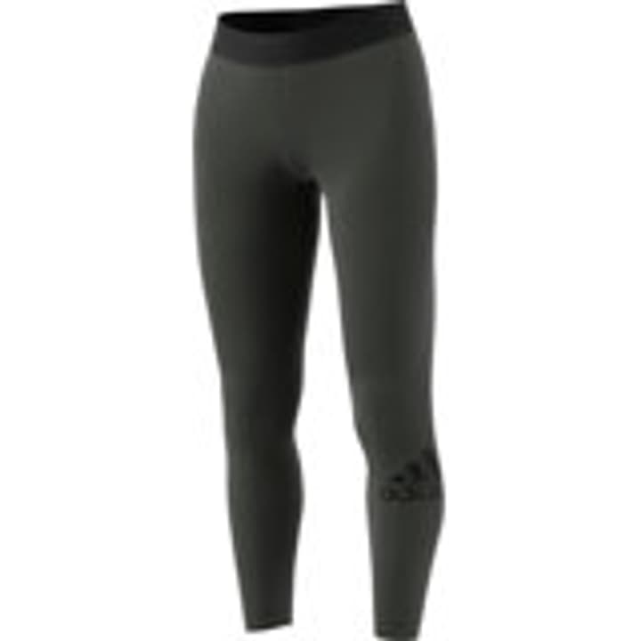 W MH BOS TIGHT Leggings da donna Adidas 464236000567 Colore oliva Taglie L N. figura 1