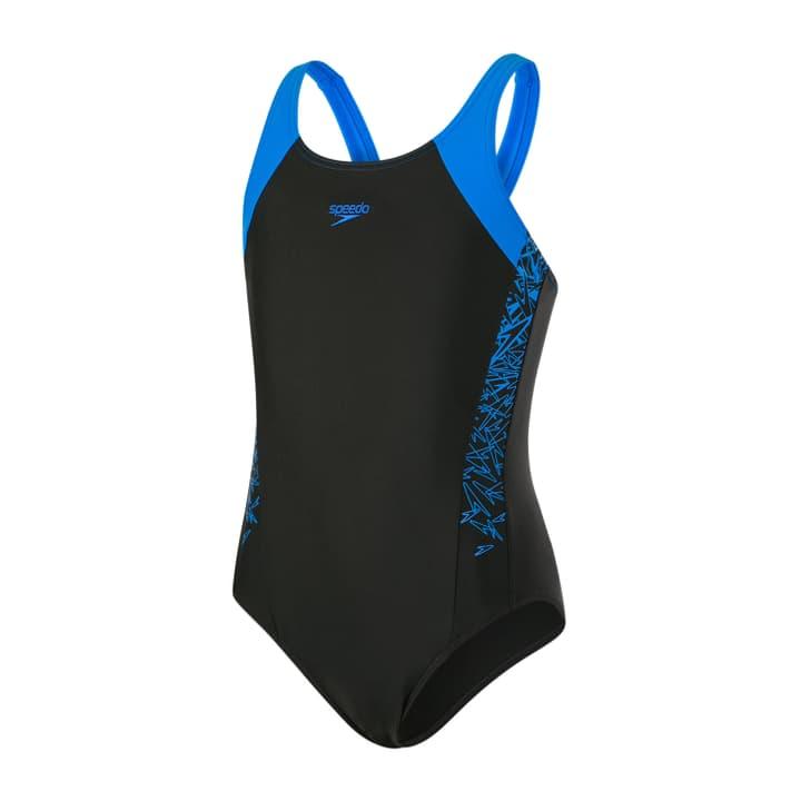 Boom Splice Muscleback Mädchen-Badeanzug Speedo 466906612820 Farbe schwarz Grösse 128 Bild-Nr. 1