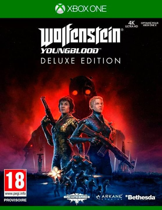 Xbox One - Wolfenstein: Youngblood Deluxe Edition F Box 785300145209 Bild Nr. 1