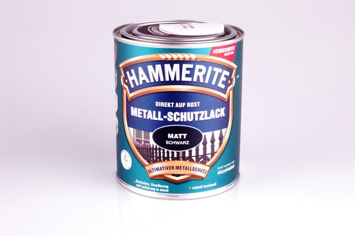 Pittura per metalli opaco nero 750 ml Hammerite 660837000000 Colore Nero Contenuto 750.0 ml N. figura 1