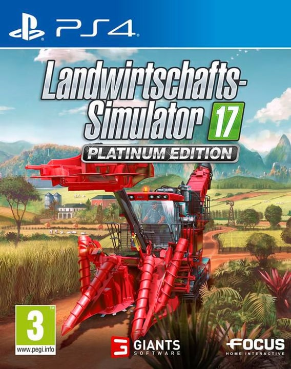 PS4 - Landwirtschafts-Simulator 17 - Platinum D 785300130449 Photo no. 1