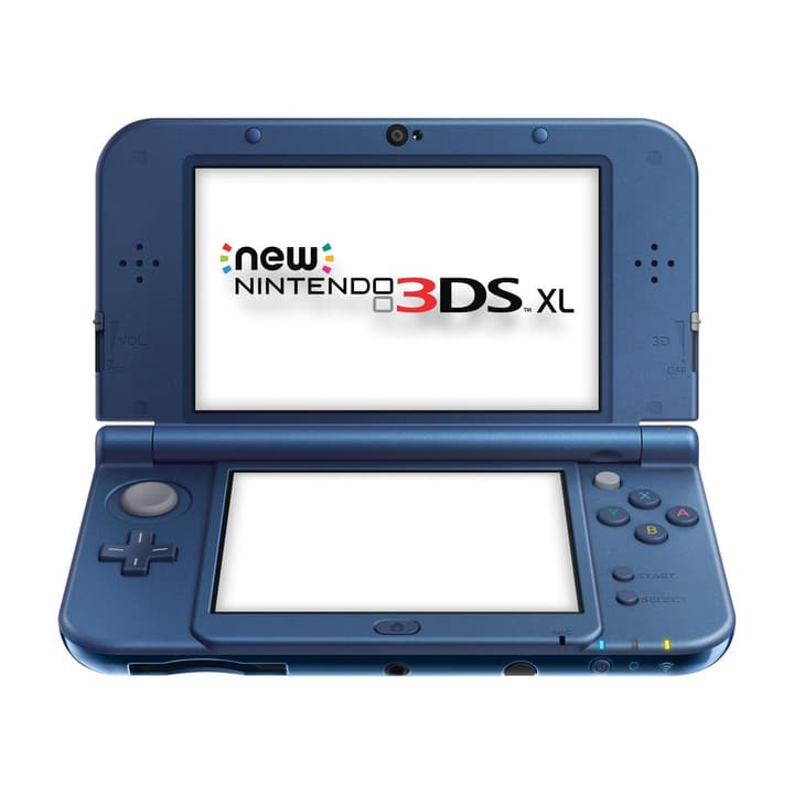 NEW 3DS XL Metal Blue Nintendo 785427100000 N. figura 1