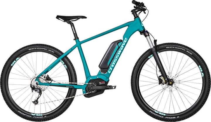 "Rock 2.7 27.5"" E-Mountain bike Cross Country Crosswave 464828800465 Colore petrolio Dimensioni del telaio M N. figura 1"