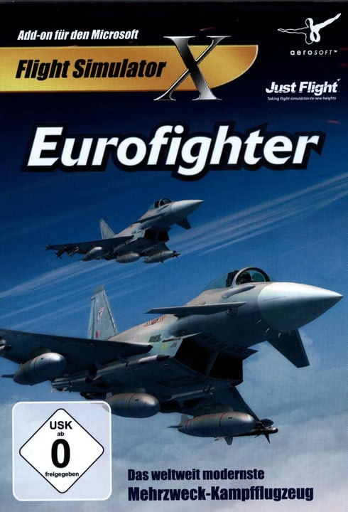 PC - Eurofighter für FSX Physique (Box) 785300128263 Photo no. 1