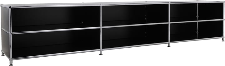 FLEXCUBE Buffet bas 401813730120 Dimensions L: 227.0 cm x P: 40.0 cm x H: 44.5 cm Couleur Noir Photo no. 1