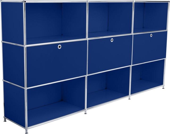 FLEXCUBE Highboard 401809800040 Grösse B: 227.0 cm x T: 40.0 cm x H: 118.0 cm Farbe Blau Bild Nr. 1