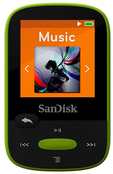 MP3-Player Clip Sport lime SanDisk 785300130853 Photo no. 1