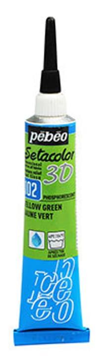 Sétacolor 3D 20ml Metal Pebeo 665469700000 Couleur Phospho Jaune Vert Photo no. 1