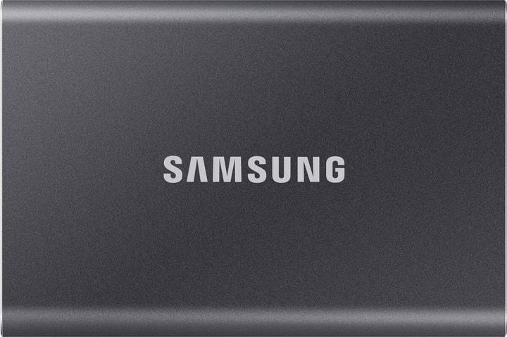 SSD T7 portable 500 GB titan grey SSD Extern Samsung 785300153266 Bild Nr. 1