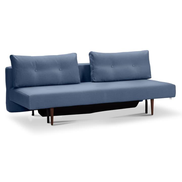 ZOÉ Canapé pliant 360053051602 Dimensions L: 200.0 cm x P: 140.0 cm Couleur Bleu Photo no. 1