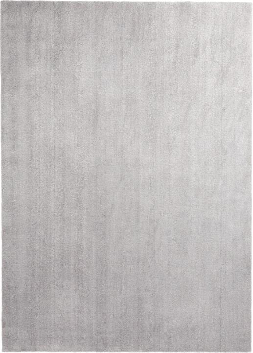 COSY FEEL Teppich 412013208001 Farbe silber Grösse B: 80.0 cm x T: 150.0 cm Bild Nr. 1