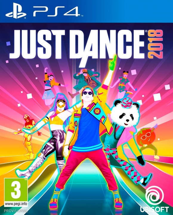 PS4 - Just Dance 2018 Box 785300128746 N. figura 1