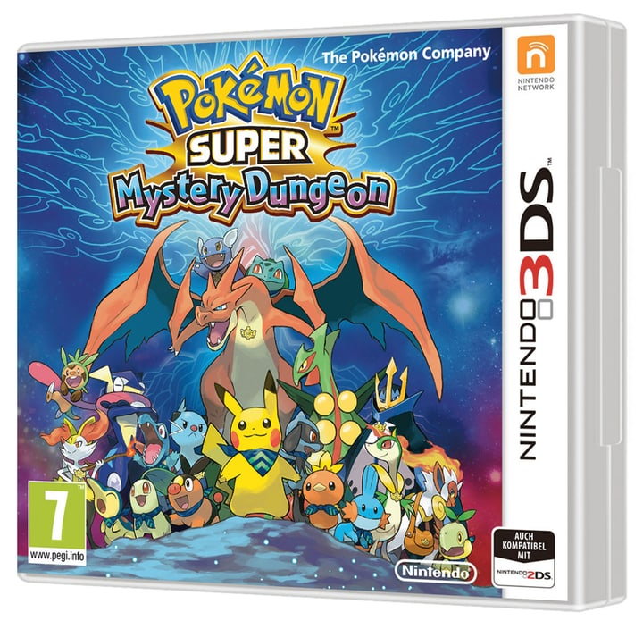 3DS - Pokémon Super Mystery Dungeon Box 785300120707 Photo no. 1