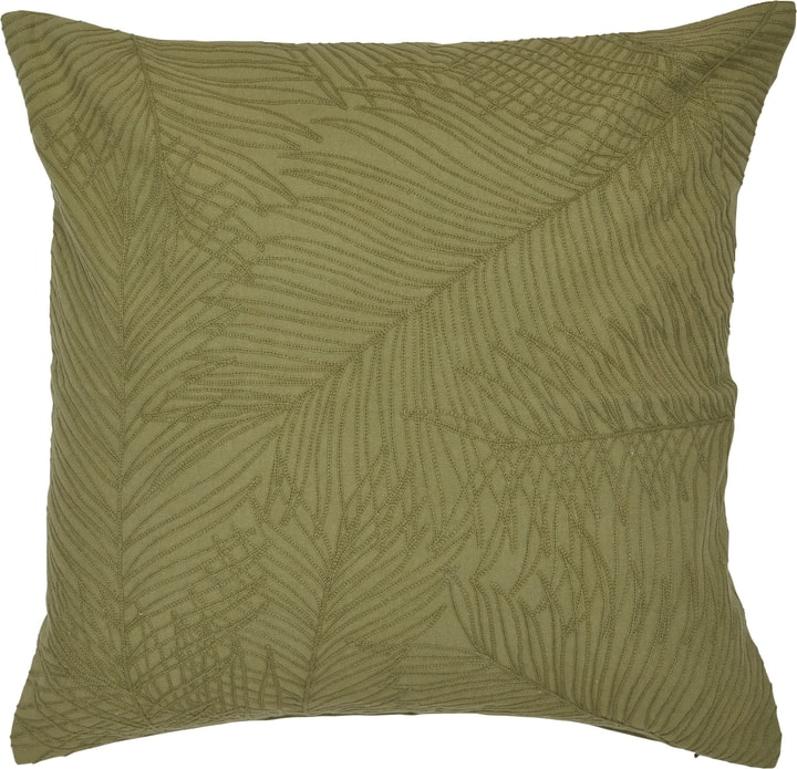 FOLLAJE Zierkissen 450749840860 Farbe Grün Grösse B: 45.0 cm x H: 45.0 cm Bild Nr. 1