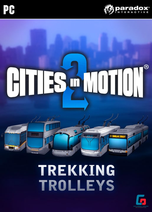 PC/Mac - Cities in Motion 2: TrekkingT (D/E) Download (ESD) 785300134129 Photo no. 1