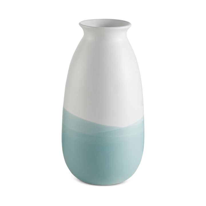 COUDY Vase 396097900000 Dimensions L: 14.0 cm x P: 14.0 cm x H: 26.5 cm Couleur Bleu clair Photo no. 1