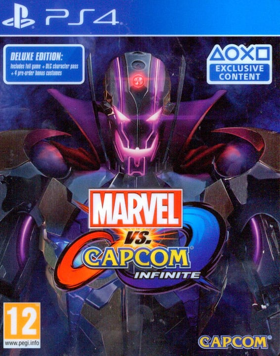 PS4 - Marvel vs Capcom Infinite - Deluxe Edition Box 785300129284 N. figura 1