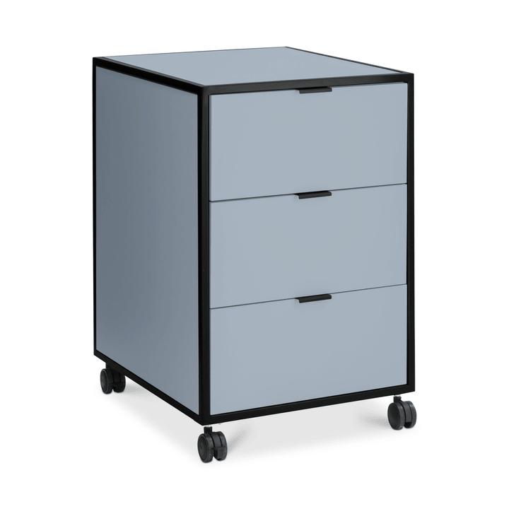 SEVEN Cassettiera 364185400040 Dimensioni L: 46.0 cm x P: 52.0 cm x A: 68.0 cm Colore Blu N. figura 1