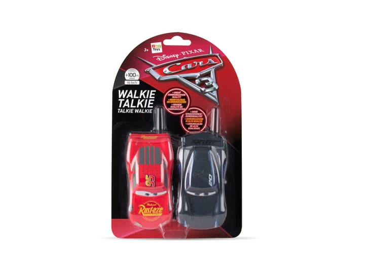 Walkie Talkie Lightning Mc Queen und Jackson Storm 2,4 GHz 747427300000 Bild Nr. 1