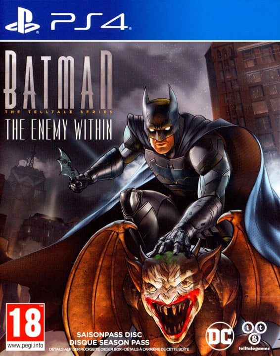 PS4 - Batman - The Telltale Series: Enemy Within Box 785300129760 Bild Nr. 1