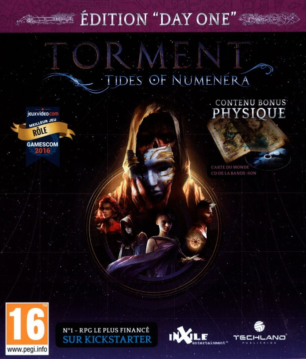 Xbox One - Torment: Tides of Numenera Day One Edition Box 785300121924 N. figura 1