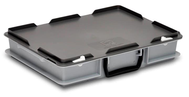 Koffer 400 x 300 x 81 mm utz 603338900000 Farbe Grau Grösse L: 400.0 mm x B: 300.0 mm x H: 81.0 mm Bild Nr. 1