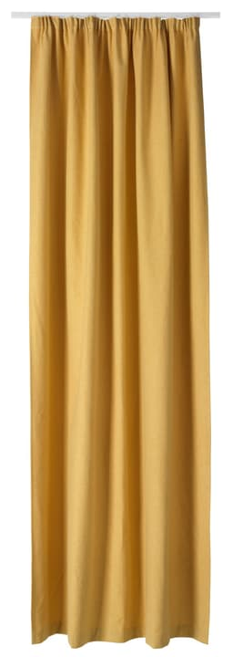 PIETRO Fertigvorhang blickdicht 430266821850 Farbe Gelb Grösse B: 145.0 cm x H: 270.0 cm Bild Nr. 1
