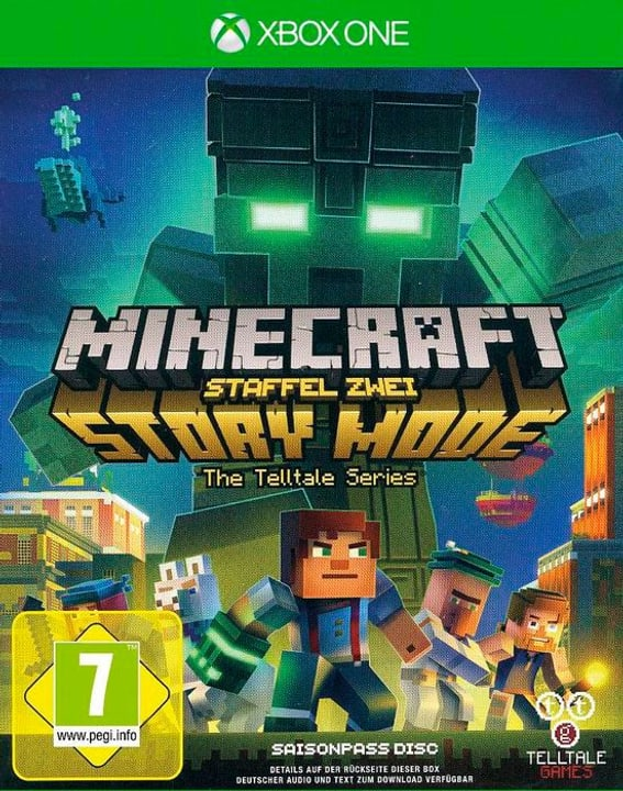 Xbox One - Minecraft Story Mode - Staffel 2 D Box 785300132916 Bild Nr. 1
