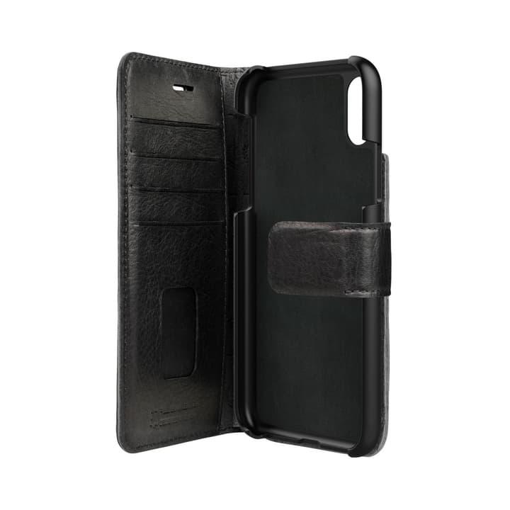 Booklet case Zurgo for iPhone X black Bugatti 798098100000