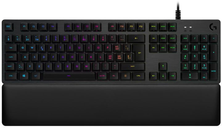 G513 Carbon RGB Mechanical Gaming Keyboard Romer-G Tactile Switch CH-Layout Gaming-Tastatur Logitech 785300138343 Bild Nr. 1