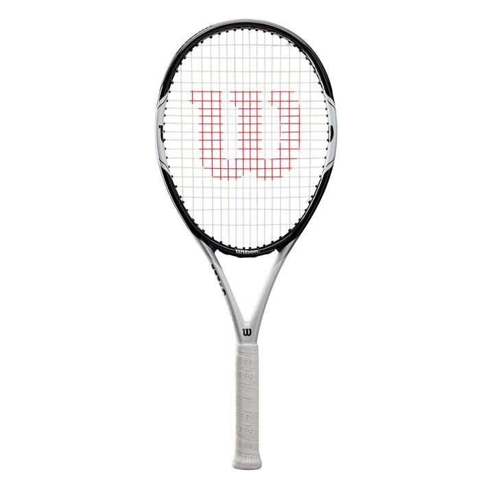 Federer Pro 105 Racket Wilson 491558300387 Tailles des poignées 003 Couleur argent Photo no. 1