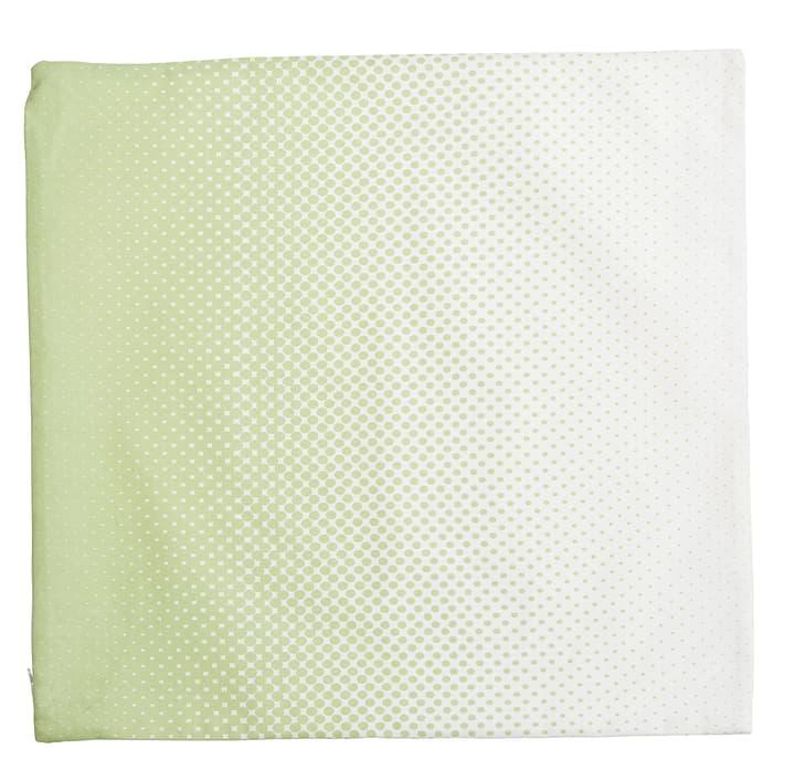TESSA Housse coussin 450726140161 Couleur Vert clair Dimensions L: 45.0 cm x P: 45.0 cm Photo no. 1
