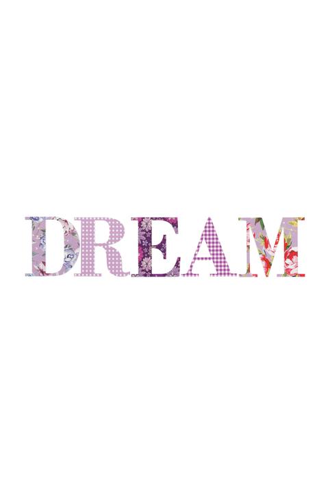 DREAM Décoration murale 433001200100 Dimensions L: 14.0 cm x P: 70.0 cm Photo no. 1