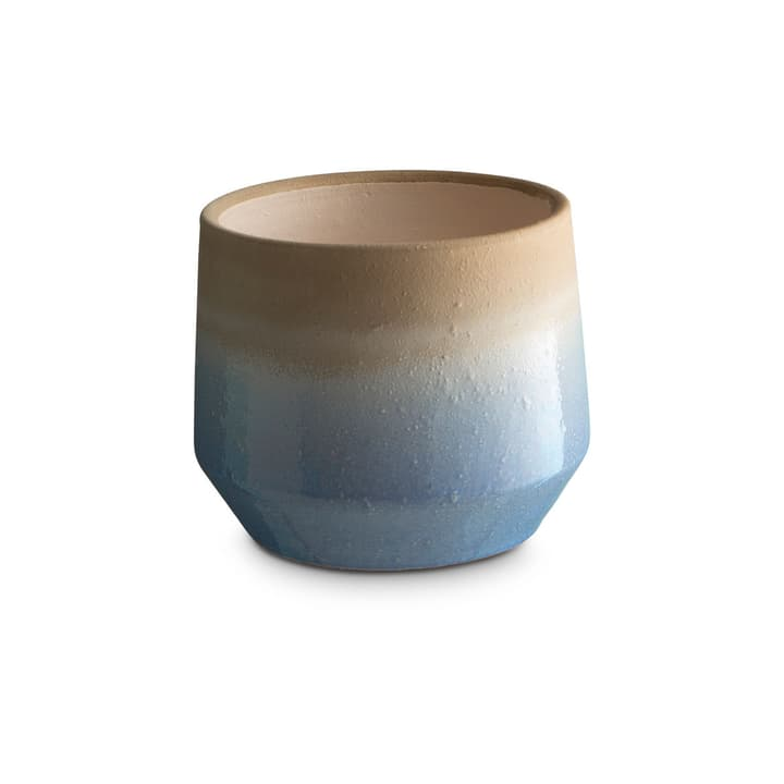 CRACLE Cache-pot 382042100000 Dimensions L: 14.0 cm x P: 14.0 cm x H: 12.0 cm Couleur Bleu clair Photo no. 1