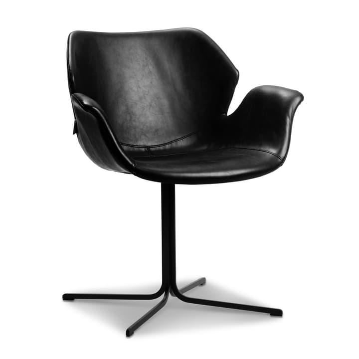 NIKKI Stuhl 366027697402 Grösse B: 62.0 cm x T: 66.0 cm x H: 80.0 cm Farbe Schwarz Bild Nr. 1