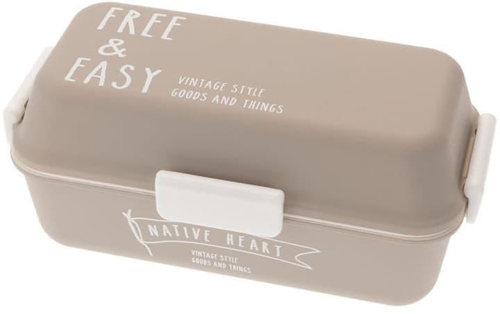 Boîte casse-croûte Free & Easy Gris Accessori per microonda Jamei Bento 785300136107 N. figura 1