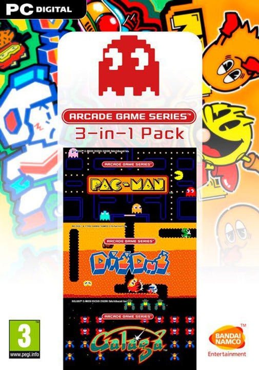 PC - Arcade Game Series 3-in-1-Pack - D/F/I Download (ESD) 785300134389 N. figura 1